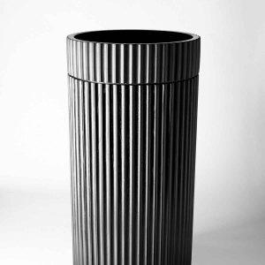 Meek Doric Round Concrete Pedestal